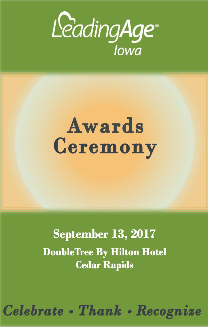 Awards Ceremony 2017 Booklet